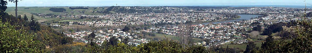 Panorama taken from Mt Jowell, aka Robert's Ave Hill.