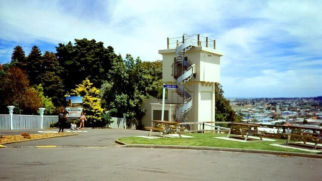 Durie Hill, Lift Tower. (c2000)