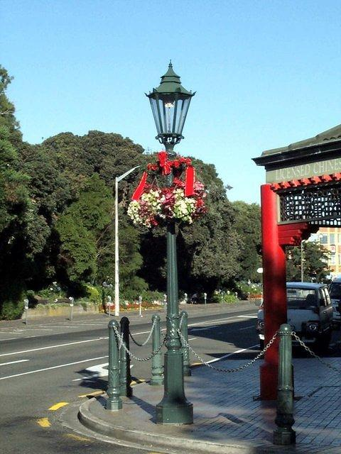 Ye Olde gas lamp in the central city