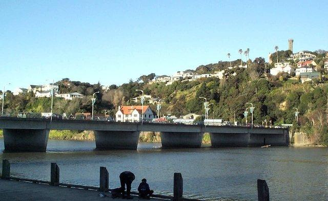 The Wanganui Town Bridge