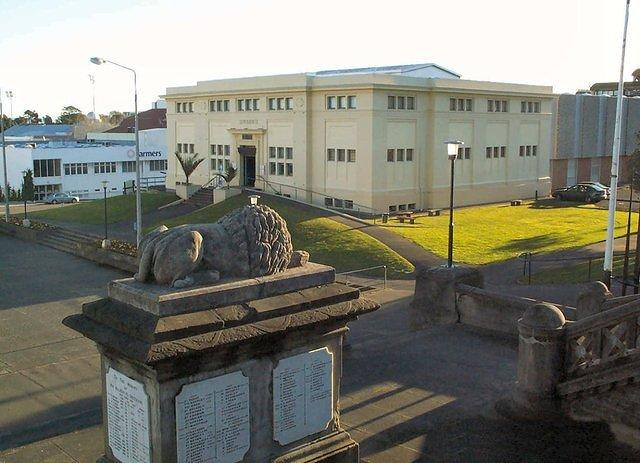 Another view of the Whanganui Regional Museum