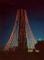 Memorial Tower Christmas Tree