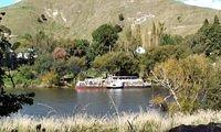 The Waimarie on the river north of Wanganui